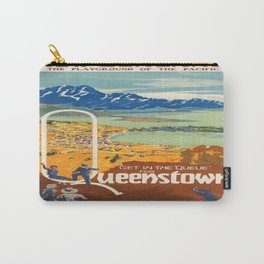 Vintage poster - New Zealand Carry-All Pouch