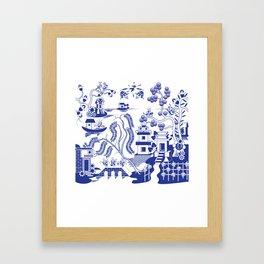 Goo Willow Framed Art Print