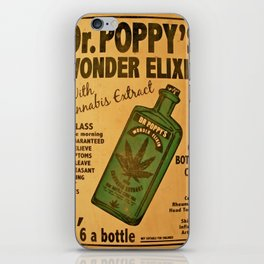 Vintage poster - Dr. Poppy's Wonder Elixir iPhone Skin