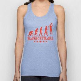 Retro Basketball Evolution Unisex Tank Top