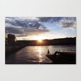 Lake Geneve Canvas Print