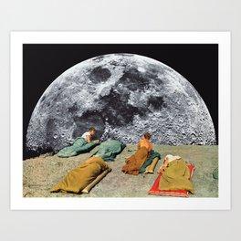 CAMPGROUND by Beth Hoeckel Art Print