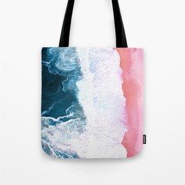 Aerial Coastal View Tote Bag