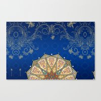 turkey Canvas Prints featuring Turkey by Zohayma Montañer