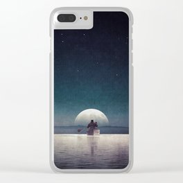 Silent wish... Clear iPhone Case