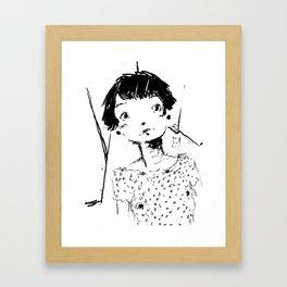 2017 Collection • Post Rock Sei Framed Art Print