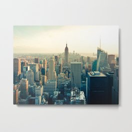 New York IV Metal Print