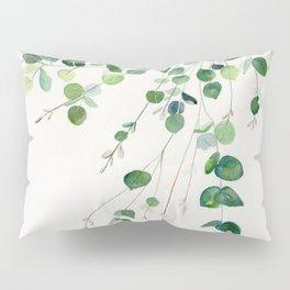 Eucalyptus Watercolor Pillow Sham
