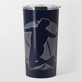 Basketball Player II (monochrome) Travel Mug