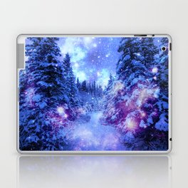 Mystical Snow Winter Forest Laptop & iPad Skin