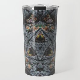 Purple Black Lime Travel Mug