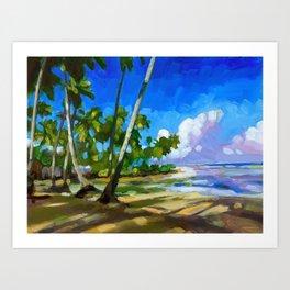 Playa Bonita Art Print