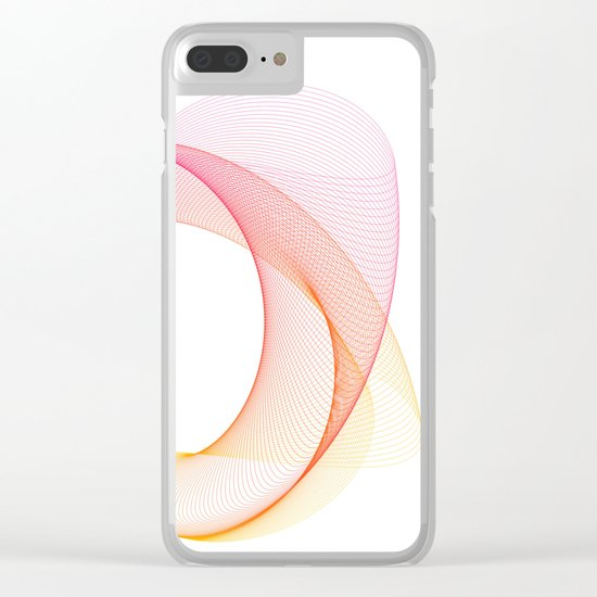 49 Clear iPhone Case