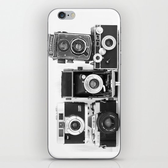 Vintage Camera Collection iPhone & iPod Skin