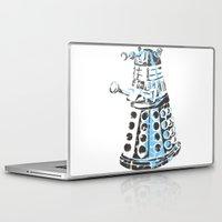 dalek Laptop & iPad Skins featuring Dalek Graffiti by spacemonkey89