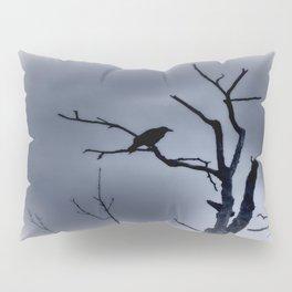 Solitary Crow Pillow Sham