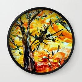 SpringAwakening Wall Clock