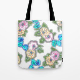 Topography Floral 2 Tote Bag