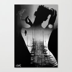 Bridge to the soul Canvas Print