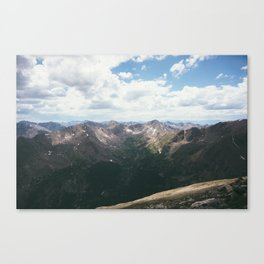 The Sawatch Range Canvas Print