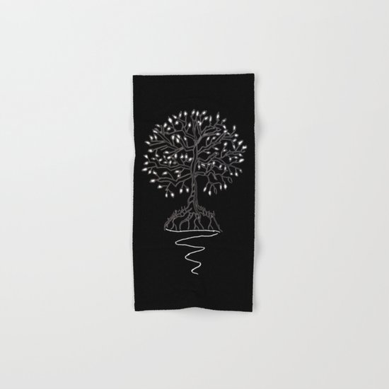 Tree of Life Light Hand & Bath Towel