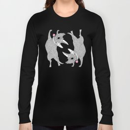 Double Chihuahua Handstand Long Sleeve T-shirt