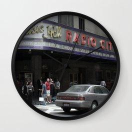 Radio City Wall Clock