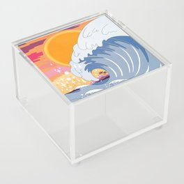 Sunset wave Acrylic Box