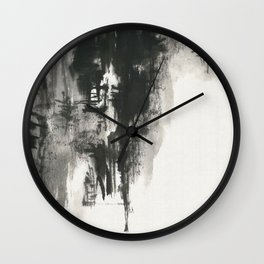 Crusing on the river Wall Clock