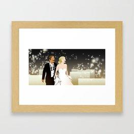 Banquet Wedding Framed Art Print