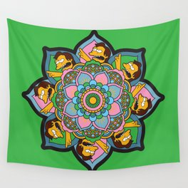 The Nelson Mandala Wall Tapestry