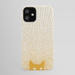 Cat Landscape 96: Good Meowning iPhone Case