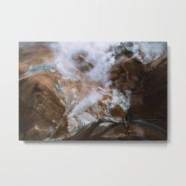 Kerlingarfjöll Mountain Range In Iceland - Landscape Photography Metal Print