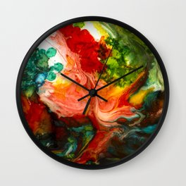 Habitable Host Wall Clock