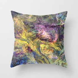 Flaming Spirits Throw Pillow