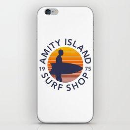 Amity Island Surf Shop iPhone Skin