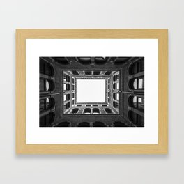Building Frame Framed Art Print