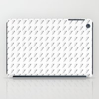 lightning iPad Cases featuring Lightning by Natalie Oliver