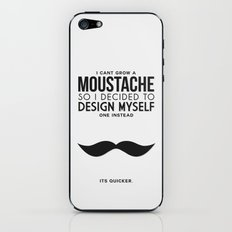 Digital Moustache. iPhone & iPod Skin