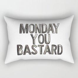 Monday Bastard Rectangular Pillow