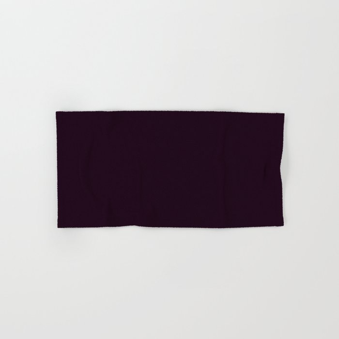 Simply Deep Eggplant Purple Hand Bath Towel By Followmeinstead