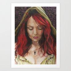 Chastity V1 Art Print