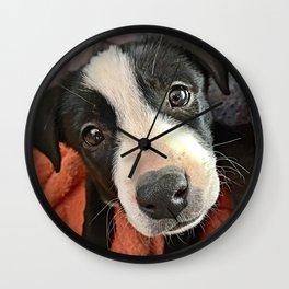 Those Eyes Wall Clock