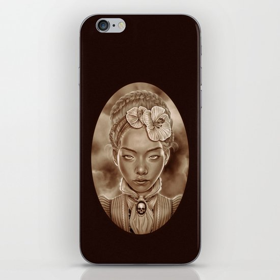"""VICTORIAN GHOST"" iPhone & iPod Skin"