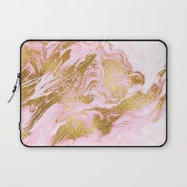Rose Gold Mermaid Marble Laptop Sleeve