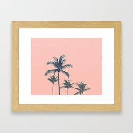 Cotton Candy Summer Framed Art Print