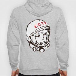 Yuri Gagarin astronaut, cosmonaut, pilot, CCCP, URSS, The first human in space Hoody