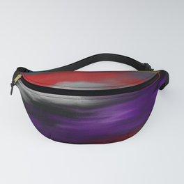 Variegated dark color Fanny Pack