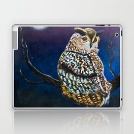 Owl Coat - Ugla Skyrta Laptop & iPad Skin