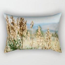 Ephemeral Drift Rectangular Pillow
